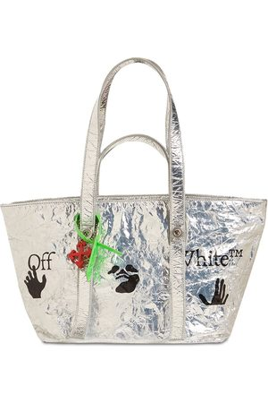 OFF-WHITE Small Laminated Tote Bag