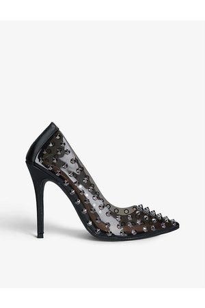 Carvela Women Heels - Kicker stud-detail court shoes