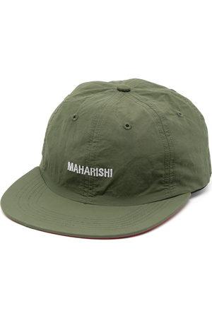 Maharishi Embroidered-logo flat cap
