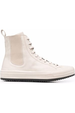 Officine creative Frida high-top leather sneakers - Neutrals