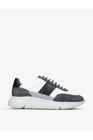 Axel Arigato Men Sports Shoes - Genesis Vintage Runner recycled-nylon and leather trainers