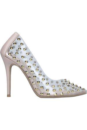 Carvela Kicker stud-detail court shoes