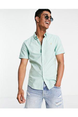 Farah Brewer organic cotton short sleeve shirt in