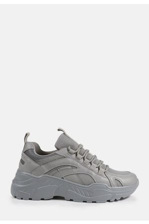 Missguided Reflective Trim Chunky Trainers