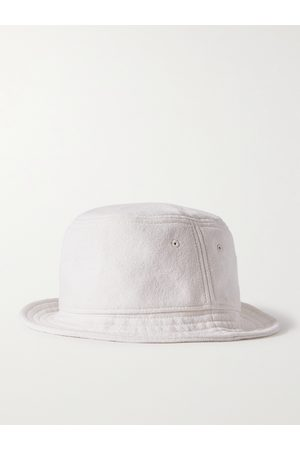 On Gossamer Men Hats - Textured Organic Cotton and Silk-Blend Bucket Hat