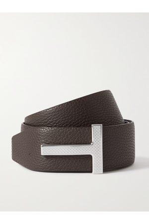 Tom Ford Men Belts - 4cm Reversible Full-Grain Leather Belt