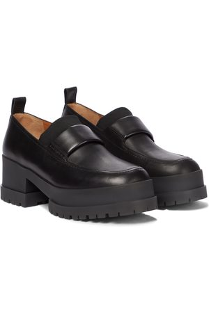 Robert Clergerie Waelly platform leather loafers