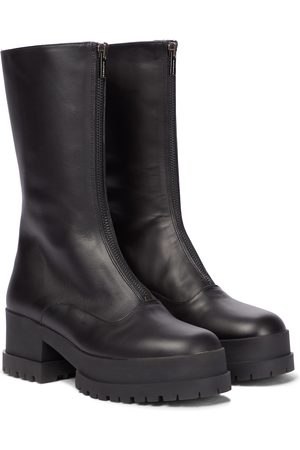Robert Clergerie Wallies leather boots