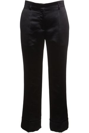 Rochas Duchesse Cropped Straight Pants