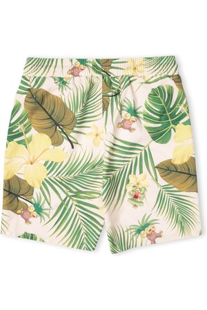 Own Brand Swim Shorts - Pokémon Exeggutor Tropical Swim Shorts