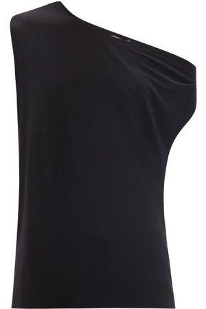 Norma Kamali Women Tops - Off-the-shoulder Jersey T-shirt - Womens
