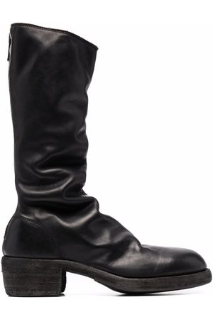 Guidi Women Boots - Rear-zip leather boots
