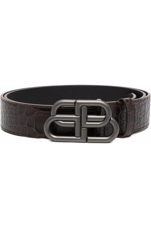 Balenciaga Men Belts - BB logo-buckle belt