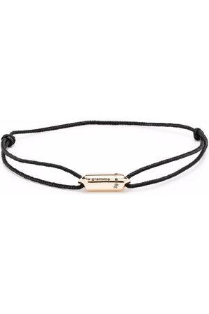 Le Gramme Bracelets - Logo capsule cord bracelet