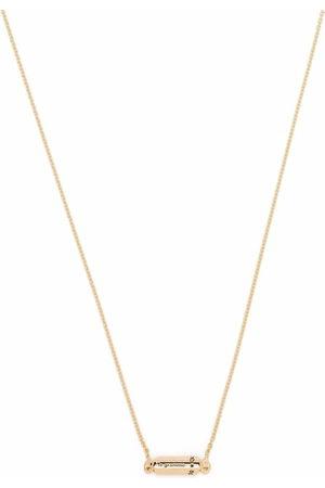 Le Gramme Necklaces - 18kt yellow polished capsule pendant necklace