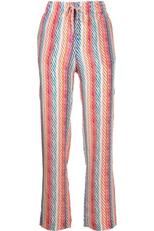 Saloni Women Trousers - De Chine Silk Crepe trousers