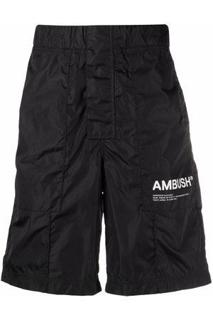 AMBUSH Men Trousers - NYLON WORKSHOP SHORT PANTS TOFU