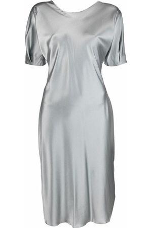 12 STOREEZ Women Party Dresses - Satin-finish dress