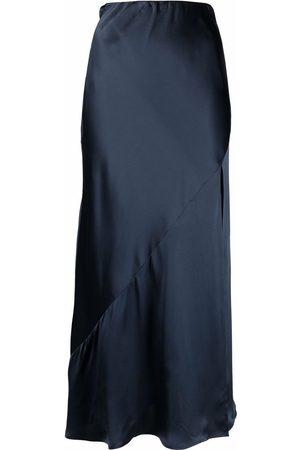 12 STOREEZ Side-slit midi skirt