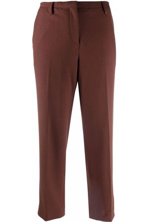 Prada Pre-Owned Women Trousers - 1990s cropped tailored trousers