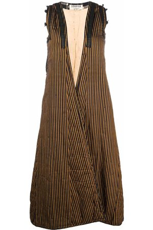 A.N.G.E.L.O. Vintage Cult Women Coats - 1970s striped sleeveless coat