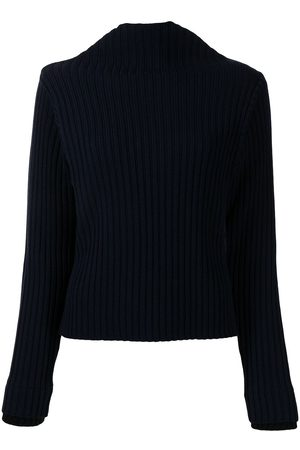 PORTS 1961 Women Jumpers - Ribbed-knit high-neck jumper
