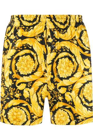 Versace Men Boxer Shorts - Barocco-print pyjama shorts