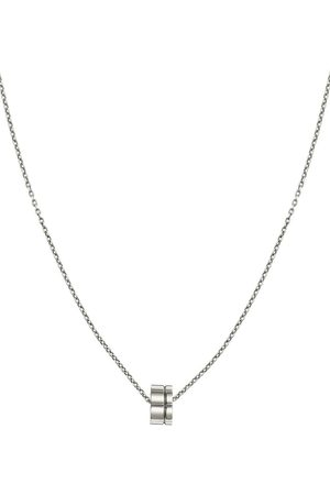 Christofle Men Necklaces - Graphik sterling pendant necklace