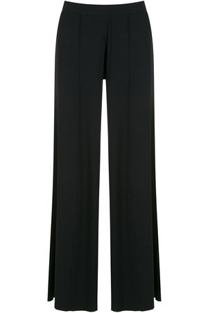 Lygia & Nanny Flared pleated trousers