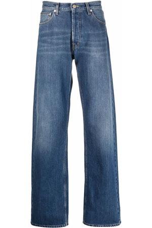 Alexander McQueen Wide-leg Japanese denim jeans