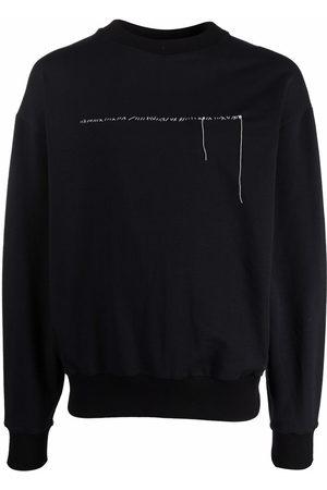 Alchemy Contrast-stitching crewneck sweatshirt