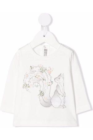 Il Gufo Sweatshirts - Graphic-print crew neck sweatshirt