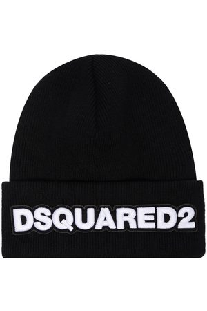 Dsquared2 Embroidered logo patch beanie