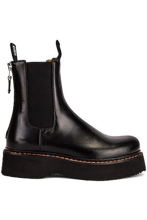 R13 Single Stack Chelsea Boot in