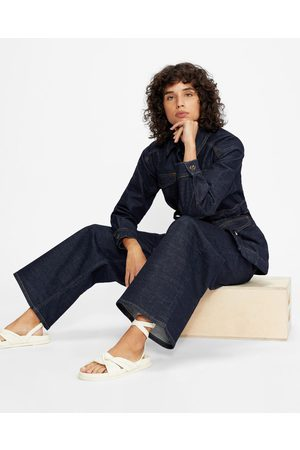 Ted Baker High Waisted Wide Leg Jeans