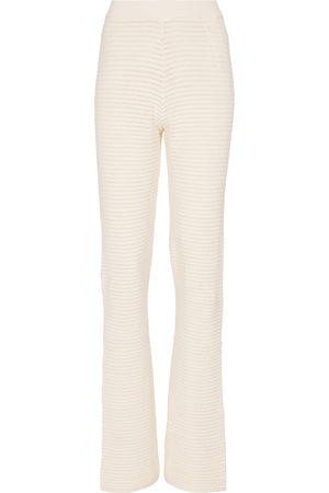 Nanushka Bazia cotton-blend wide-leg pants