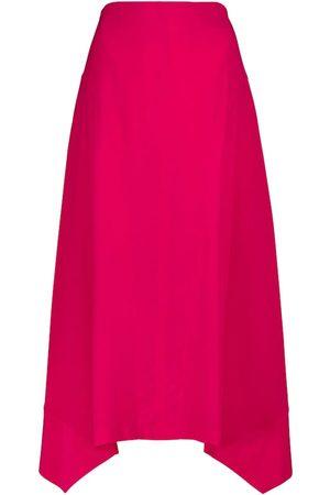 Stella McCartney Naya silk midi skirt