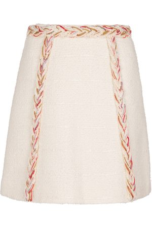 Giambattista Valli Tweed wool-blend miniskirt