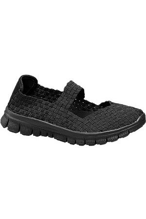 Vty Women Casual Shoes - Ladies Woven Slip-on Shoes