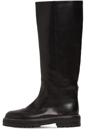Jimmy Choo 20mm Yomi Tall Leather Boots