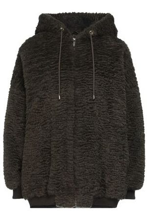 TRUSSARDI JEANS COATS & JACKETS - Teddy coat