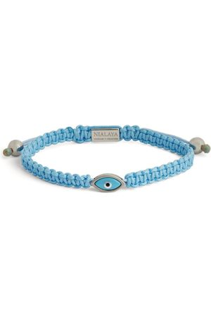 Nialaya Eye-Detail String Bracelet