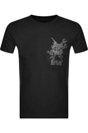 Replay Logo Crew Neck T Shirt