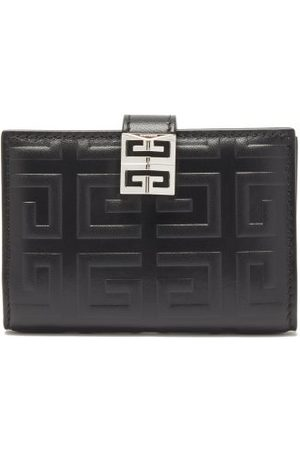 Givenchy Women Handbags - 4g-embossed Leather Bi-fold Wallet - Womens