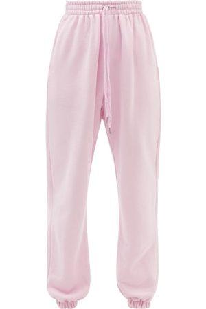 The Frankie Shop Vanessa Cotton Track Pants - Womens