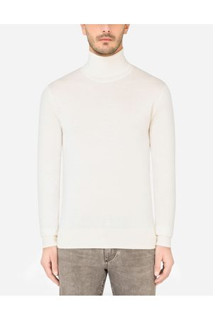 Dolce & Gabbana Collection - Cashmere and silk turtle-neck sweater male 42