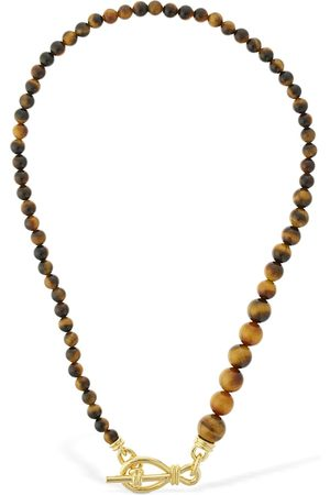 Missoma Tigers Eye Gradient Necklace