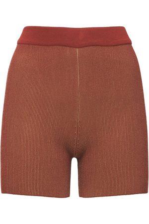Jacquemus Arancia Viscose Knit Cycling Shorts