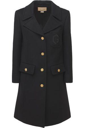 Gucci Embellished Wool Coat
