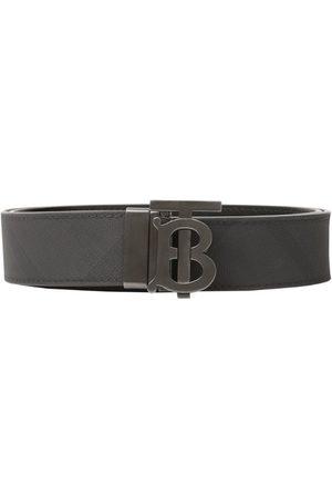 Burberry Men Belts - Reversible TB Monogram Belt